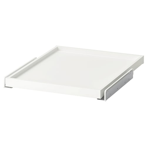 KOMPLEMENT pull-out tray white 46.1 cm 50 cm 56.3 cm 3.5 cm 58 cm 10 kg
