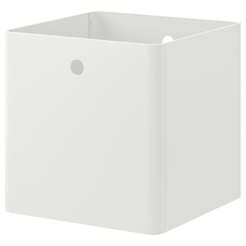 KUGGIS Storage box, white, 30x30x30 cm