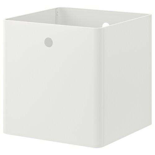 KUGGIS storage box white 30 cm 30 cm 30 cm