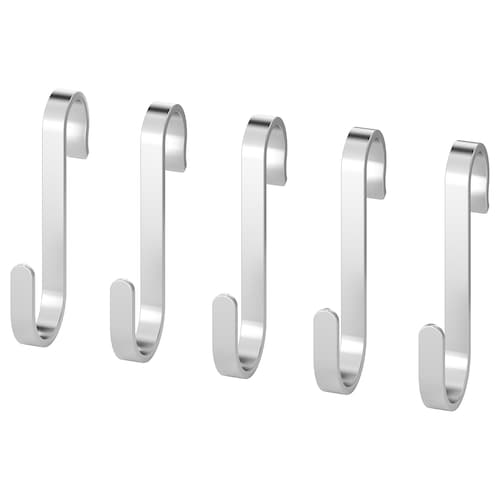 KUNGSFORS s-hook stainless steel 6 cm 4 kg 5 pack