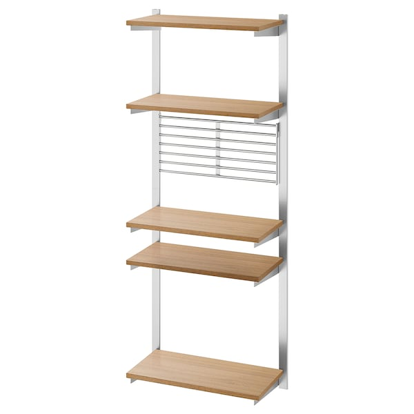 IKEA KUNGSFORS Suspension rail with shelf/wll grid