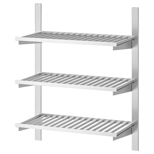 IKEA KUNGSFORS Suspension rail with shelves