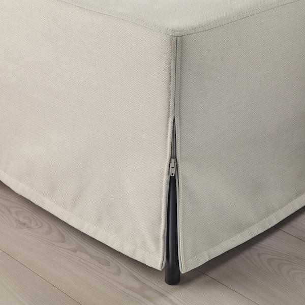 KUNGSHAMN 3-seat modular sofa Idekulla beige 237 cm 71 cm 85 cm 152 cm 23 cm 65 cm 132 cm 44 cm