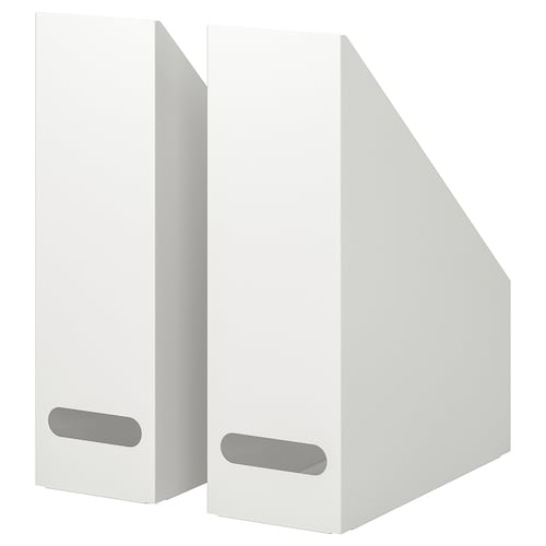 IKEA KVISSLE Magazine file set of 2