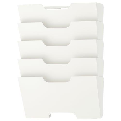 KVISSLE wall newspaper rack white 46 cm 34 cm 9 cm