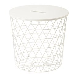 KVISTBRO storage table, white