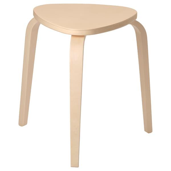 KYRRE stool birch 100 kg 42 cm 48 cm 45 cm 34 cm 35 cm