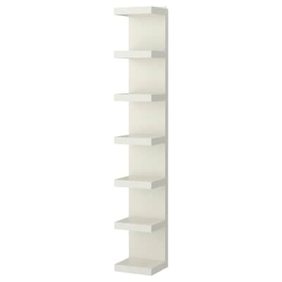 LACK Wall shelf unit, white, 30x190 cm