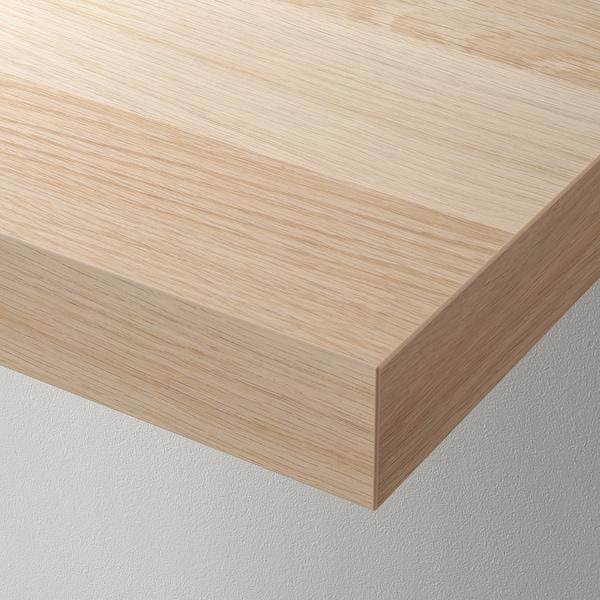 LACK wall shelf white stained oak effect 110 cm 26 cm 5 cm 10 kg