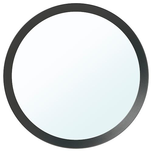LANGESUND mirror dark grey 50 cm