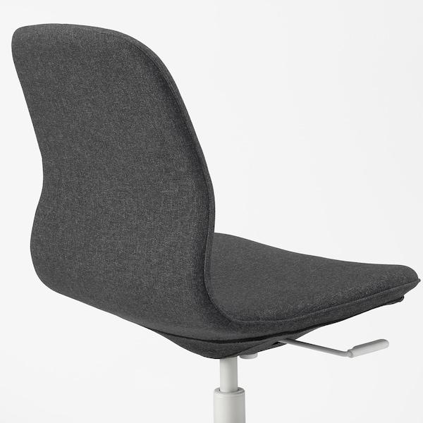 LÅNGFJÄLL conference chair Gunnared dark grey/white 110 kg 67 cm 67 cm 92 cm 53 cm 41 cm 43 cm 53 cm