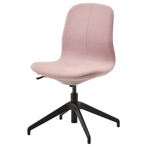 LÅNGFJÄLL conference chair Gunnared light brown-pink/black 110 kg 67 cm 67 cm 92 cm 53 cm 41 cm 43 cm 53 cm