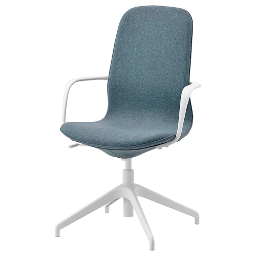 LÅNGFJÄLL conference chair with armrests Gunnared blue/white 110 kg 67 cm 67 cm 104 cm 53 cm 41 cm 43 cm 53 cm