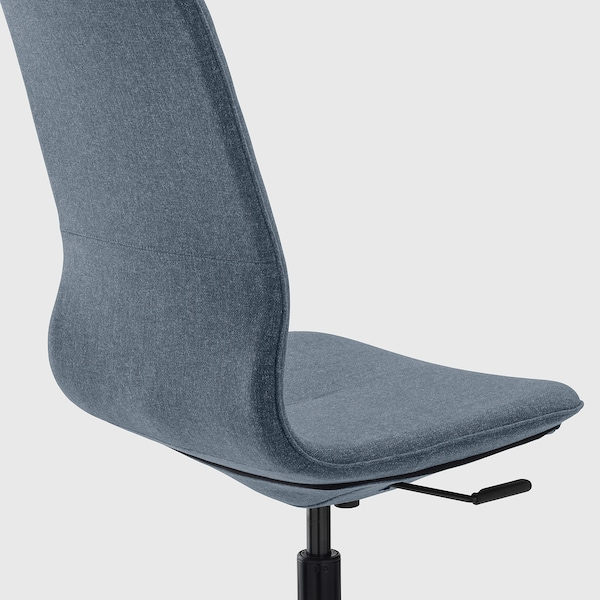 LÅNGFJÄLL office chair Gunnared blue/black 110 kg 68 cm 68 cm 104 cm 53 cm 41 cm 43 cm 53 cm