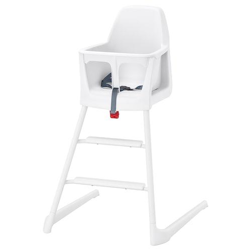LANGUR Junior/highchair, white