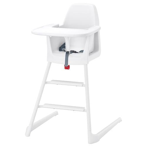 LANGUR junior/highchair with tray white 56 cm 61 cm 87 cm 22 cm 21 cm 56 cm