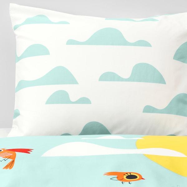 IKEA LATTJO Quilt cover and pillowcase