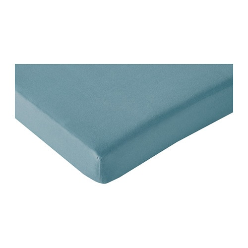 LEN Fitted sheet for ext bed, set of 2