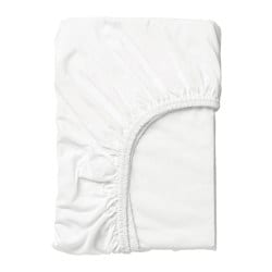LEN fitted sheet, white