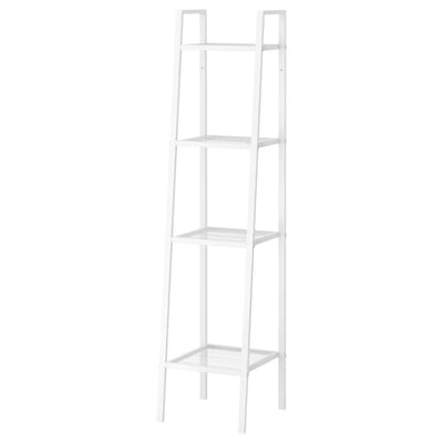LERBERG Shelf unit, white, 35x148 cm