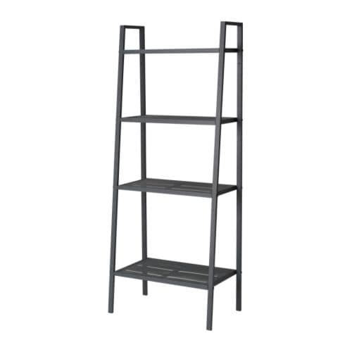 lerberg shelf unit dark grey ikea