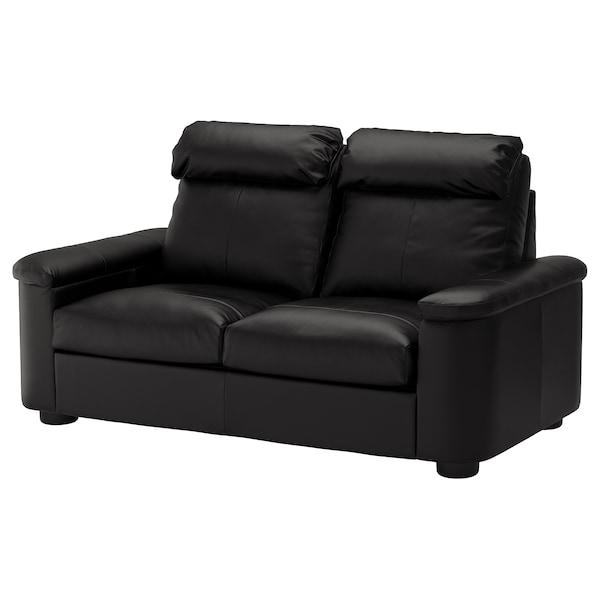 LIDHULT 2-seat sofa, Grann/Bomstad black