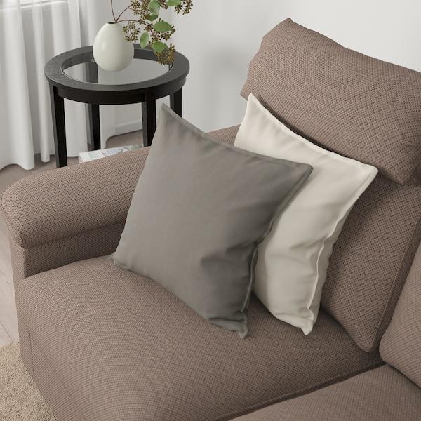 LIDHULT 2-seat sofa Lejde beige/brown 102 cm 76 cm 189 cm 98 cm 7 cm 141 cm 53 cm 45 cm