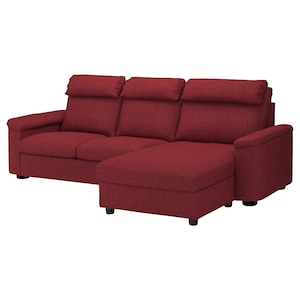 Cover: With chaise longue/lejde red-brown.