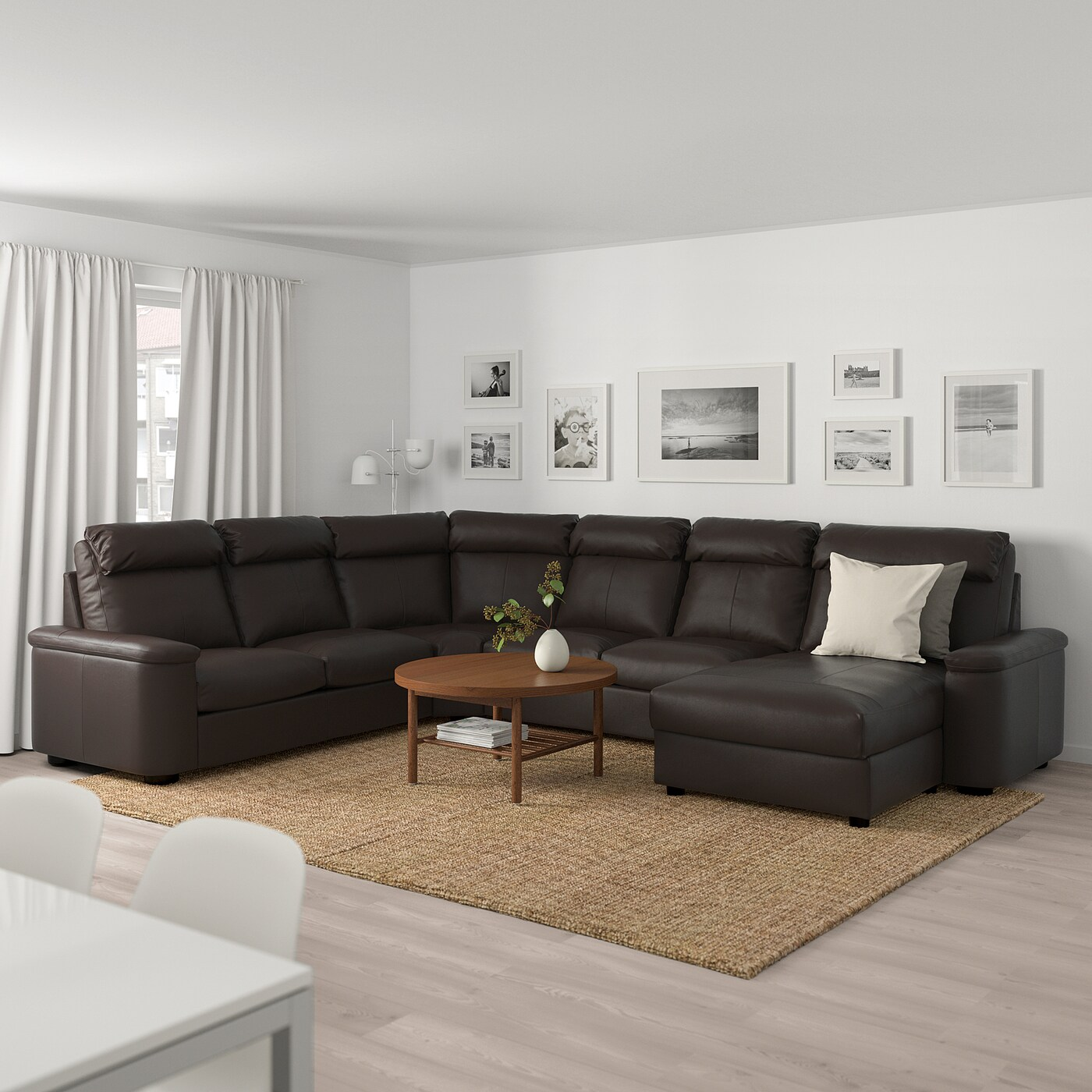 Lidhult Corner Sofa 6 Seat With