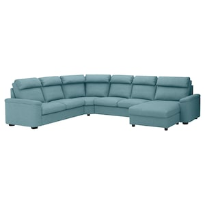 Cover: With chaise longue/gassebol blue/grey.