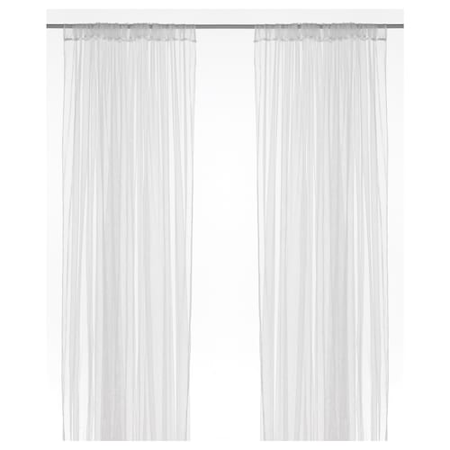 IKEA LILL Net curtains, 1 pair
