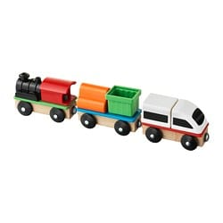 LILLABO 3-piece train set