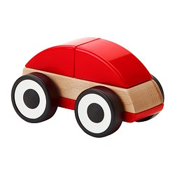 LILLABO toy car, red
