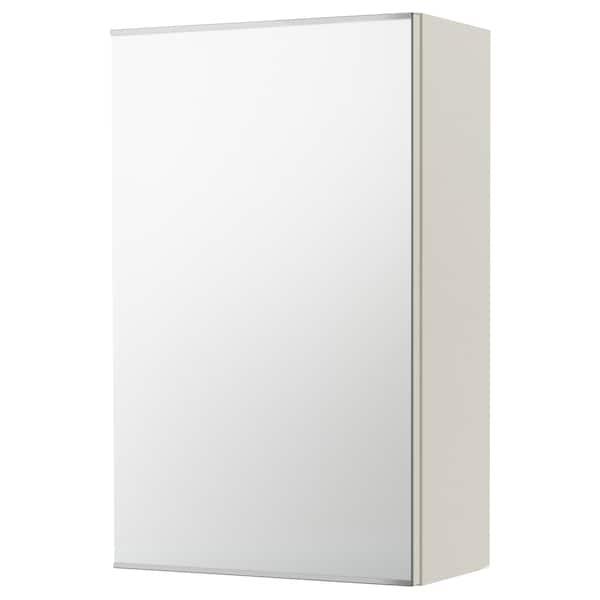 LILLÅNGEN Mirror cabinet with 1 door, white, 40x21x64 cm