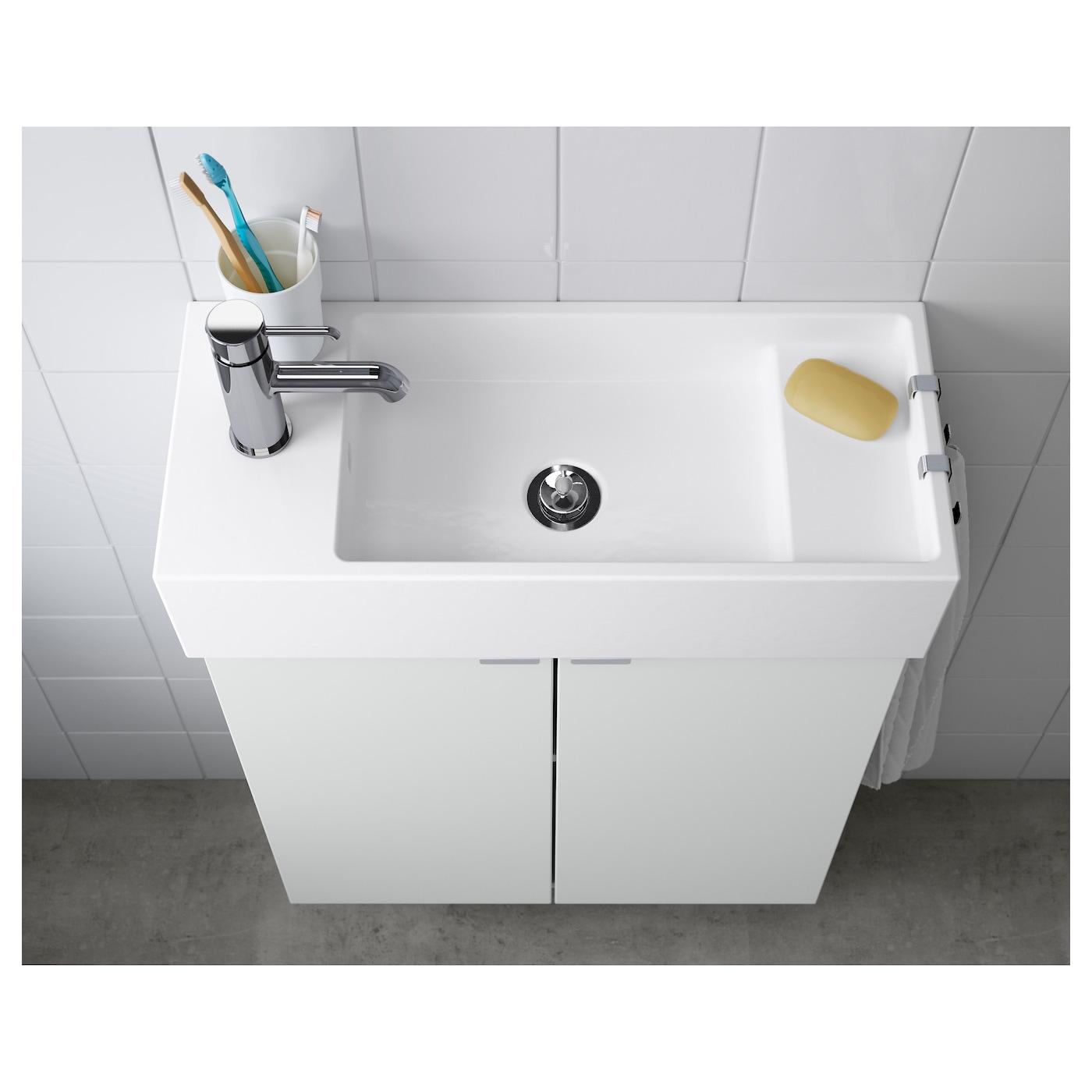 LillÅngen Single Wash Basin White Ikea
