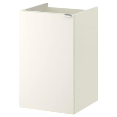 LILLÅNGEN Wash-basin cabinet with 1 door, white, 40x38x64 cm