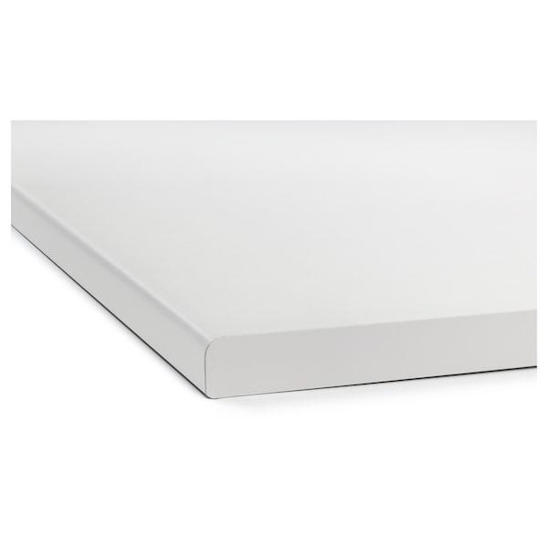 LILLTRÄSK worktop white/laminate 186 cm 63.5 cm 2.8 cm