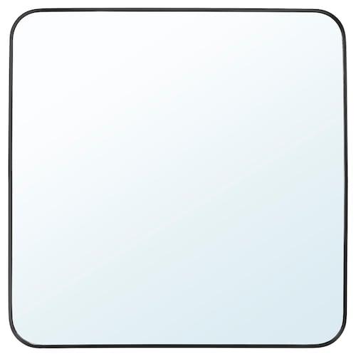 LINDBYN mirror black 60 cm 60 cm