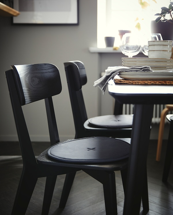LISABO chair black 110 kg 44 cm 51 cm 80 cm 44 cm 39 cm 45 cm