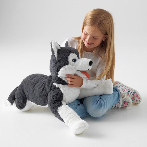 LIVLIG Soft toy, dog/siberian husky, 57 cm