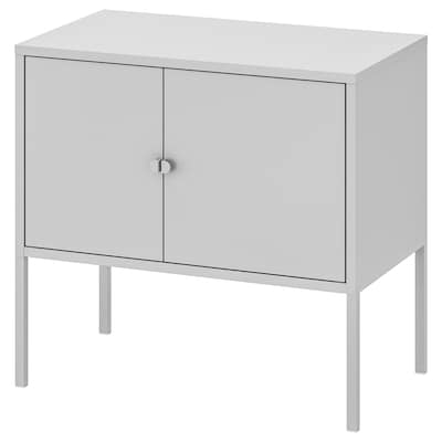 LIXHULT Cabinet, metal/grey, 60x35 cm