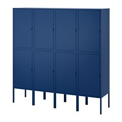 LIXHULT storage combination, dark blue