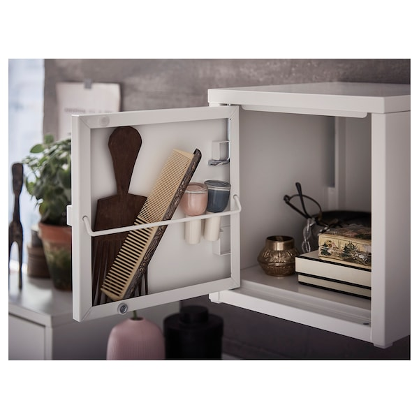 LIXHULT wall-mounted cabinet combination white 50 cm 25 cm 50 cm