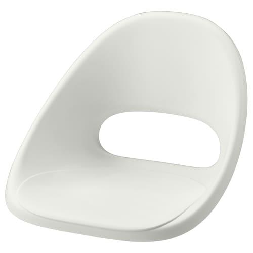 LOBERGET seat shell white 110 kg 53 cm 52 cm 39 cm 40 cm 39 cm
