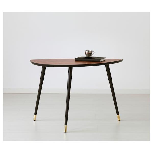 LÖVBACKEN side table medium brown 77 cm 39 cm 51 cm