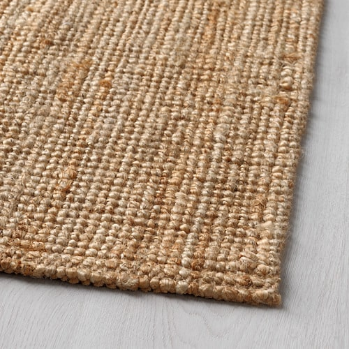 LOHALS Rug, flatwoven IKEA Jute is a durable and recyclable material with natural colour variations.