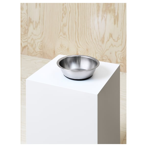LURVIG Bowl, stainless steel, 1.6 l