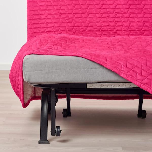 LYCKSELE LÖVÅS 2-seat sofa-bed Vallarum cerise 142 cm 100 cm 87 cm 60 cm 39 cm 140 cm 188 cm 188 cm 140 cm 10 cm