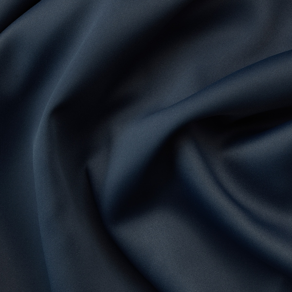MAJGULL block-out curtains, 1 pair dark blue 250 cm 145 cm 2.00 kg 3.63 m² 2 pack