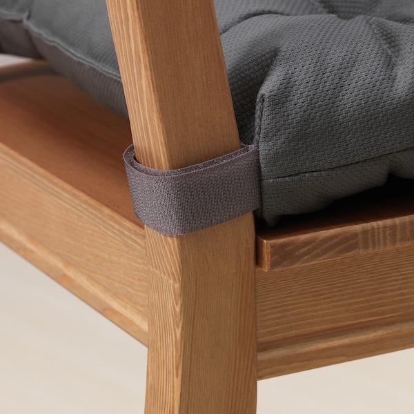 MALINDA chair cushion grey 35 cm 40 cm 38 cm 7 cm 330 g 460 g